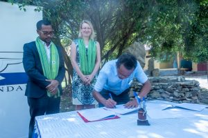 Signing Ceremony of Vocational – Electrical and